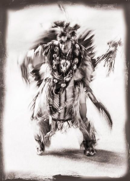 Seminole Man Sepia