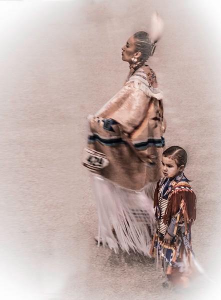 Seminole Mom and Daughter