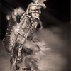 Seminole Dancer in Sepia