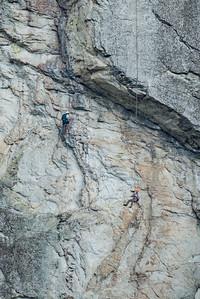 Pleaasent Overhang Rappel