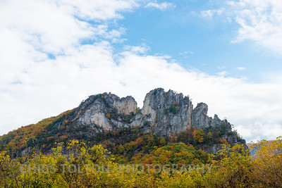 Seneca Rocks in October