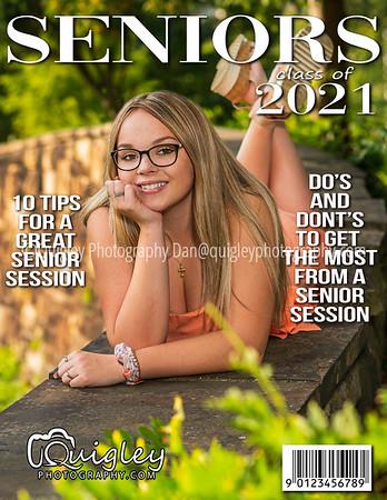 Lexi Musko_Senior mag cover 2021