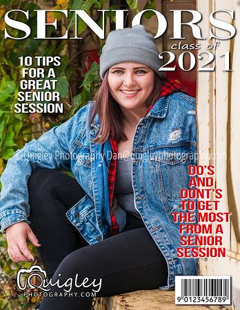 Becca Downey_Senior mag cover 2021