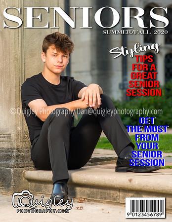 Luke Warren  MAG COVER 2021