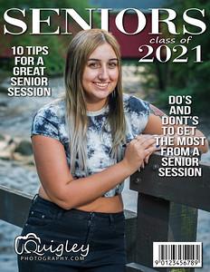Hailie Lowe_Senior mag cover 2021