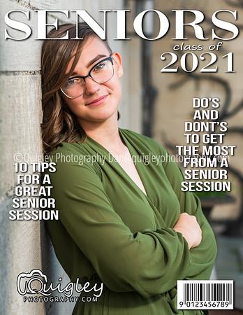Alyssa Mooney_Senior mag cover 2021