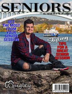 Brandon Belajac MAG COVER 2021