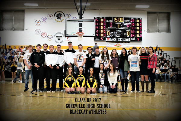 2017 SENIORS RECOGNITION AND CELEBRATIONS