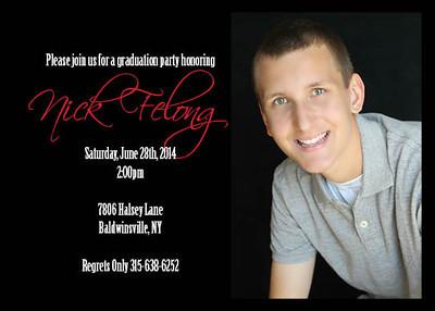 Nick Felong Grad Announcement 22
