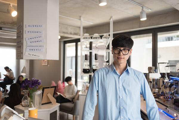 Barista Lee Kangbin