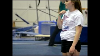Kaycee Tumbling Time at YMCA  - Learning Stages.