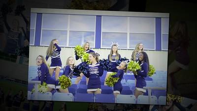 Thomas County Middle School Cheerleaders
