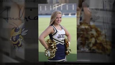 TCCHS Jackets Cheerleader - Andria - Jr - 2016