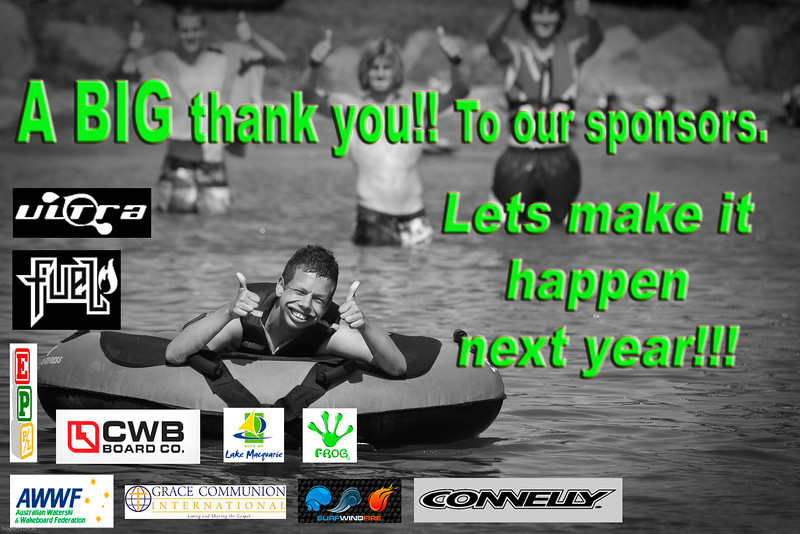 Summer Educational Program (SEP) 2010  Lake Macquarie NSW Australia. Water Ski program. This program was made possible by the above sponsors.  Special thanks to the Australian Water ski Federation and Grace Communion International for there support.  If you would like to contribute or participate in SEP in the future please call Grace Communion International.