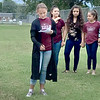 CONNIE POOLE | Staff photo<br /> Krebs Public School students and teachers participated in the National See You At The Pole event before school Wednesday morning at 7:20 a.m.