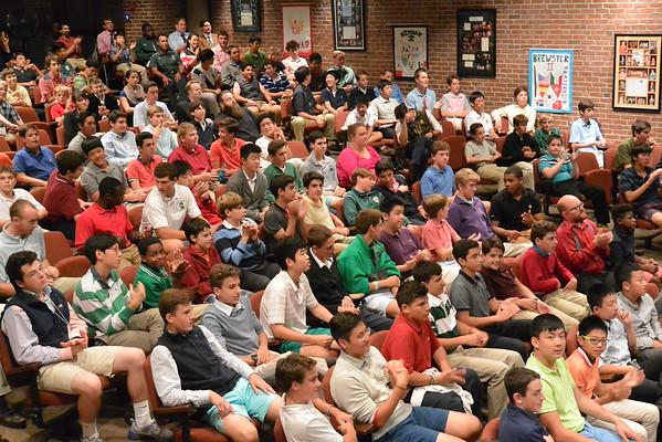 All School Meeting, Sept. 29, 2015