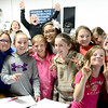 Kevin Harvison | Staff photo<br /> In this file photo, Frink Chambers students pose for a classroom photo.