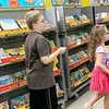 HAYDEN HARVISON | Submitted photo<br /> Several attent the Book Fair during the Emerson Elementary School Family Night event.
