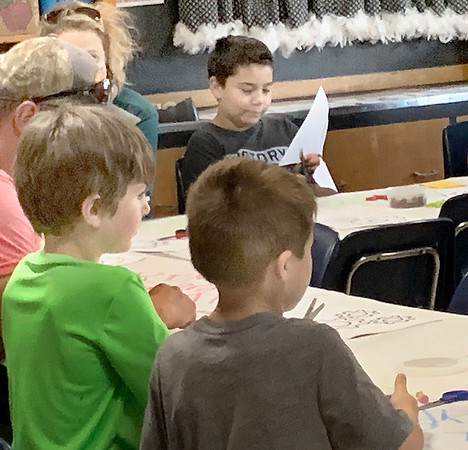 HAYDEN HARVISON | Submitted photo<br /> Several friends and family attended during the Emerson Elementary School Family Night event Friday.