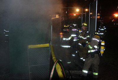 FIRE DAMAGES LL DUGOUT _ A suspicious fire extensively damaged a dug out at the Mahanoy City Little League Field on South 6th Street just after 11 p.m. Friday. The fire was brought under control within minutes and fire officials and borough police said the cause of the blaze is under investgation. The structure had no electricity and police ask that anyone with information on the fire to contact them at either 773-2310 or 462-1991.