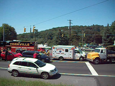 POTTSVILLE CITY VEHICLE ACCIDENT 9-2-2009 PICTURES AND VIDEOS BY COALREGIONFIRE