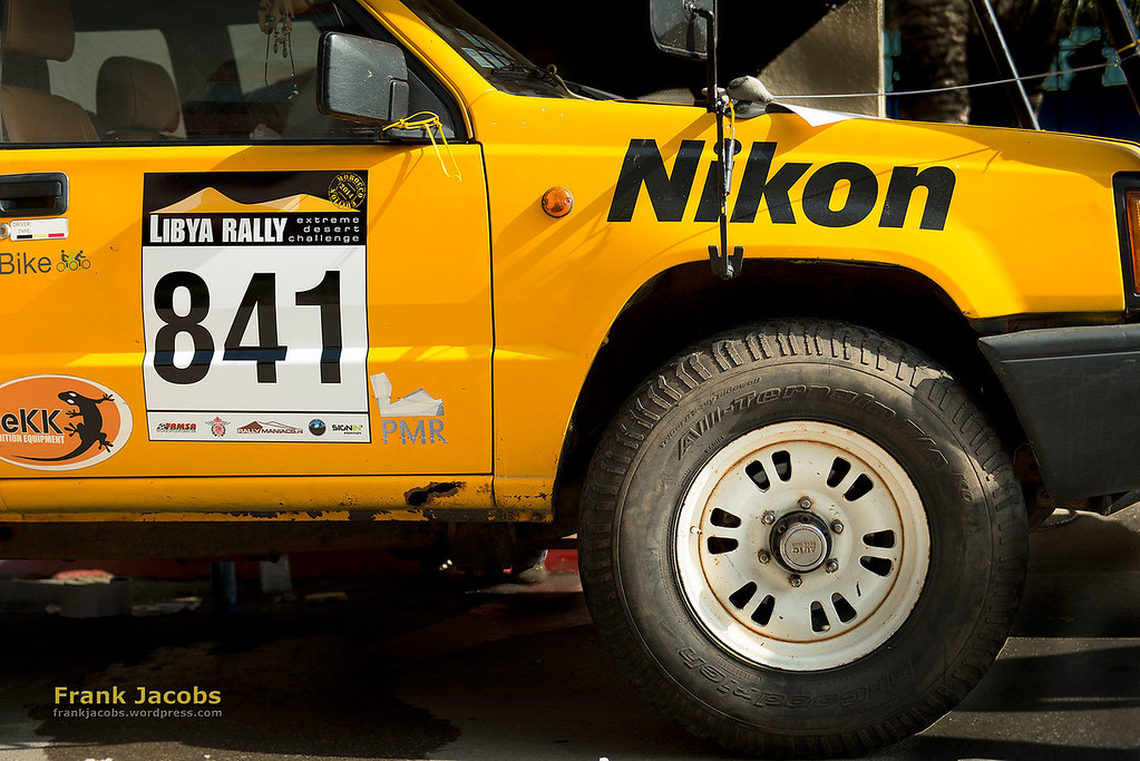 Jan, Nicky, Stefan, Rudi and Frank (the official photography team for the Libya Rally 2014) all use Nikon D700 and D800 bodies and their pro lenses.