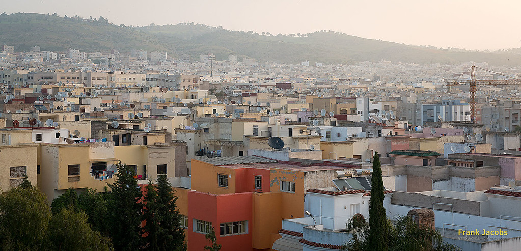 At the Zalagh Parc Palace Hotel, we got a nice 'room with a view'.