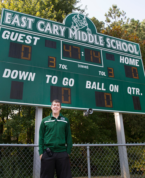 EAST CARY MIDDLE SCHOOL-NC