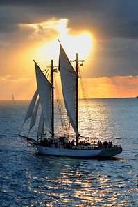 Sunset Sail, Key West Florida