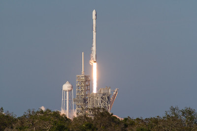 #SES10 #Falcon9 with reused first stage