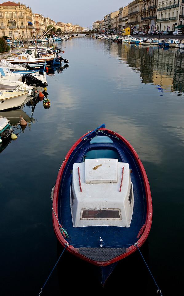 Blue Boat.