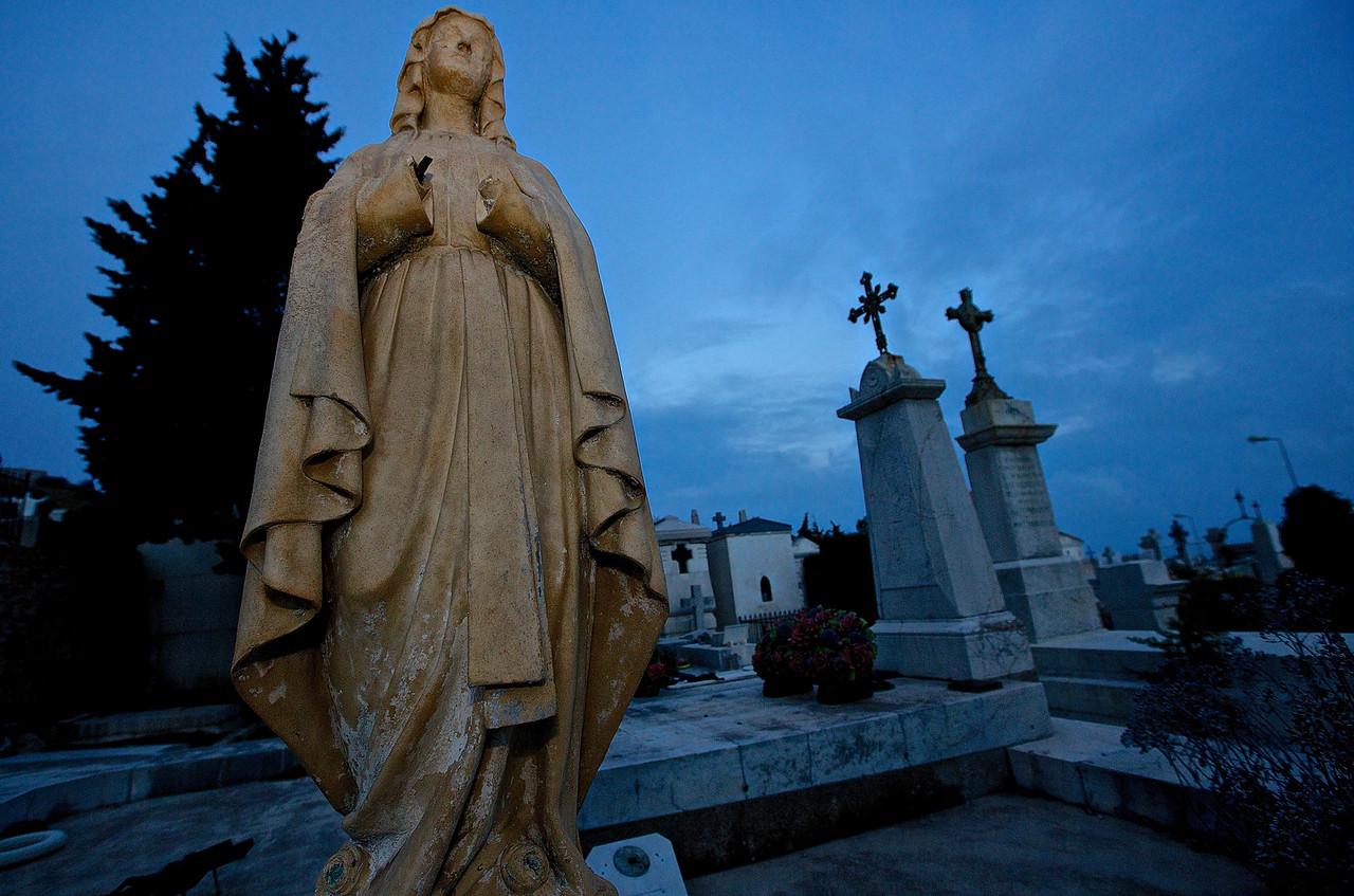 Handless Statue