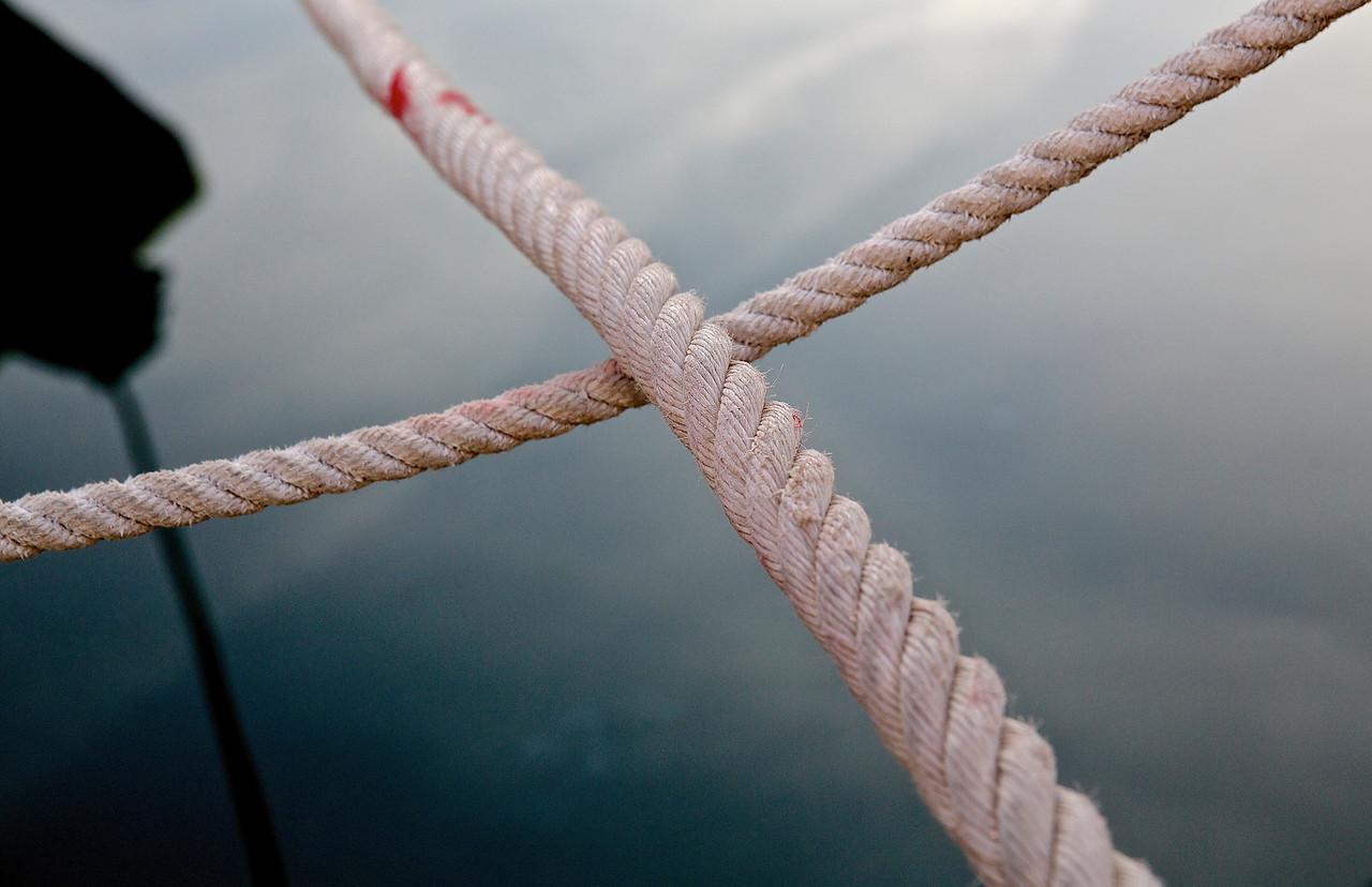 Crossed Ropes