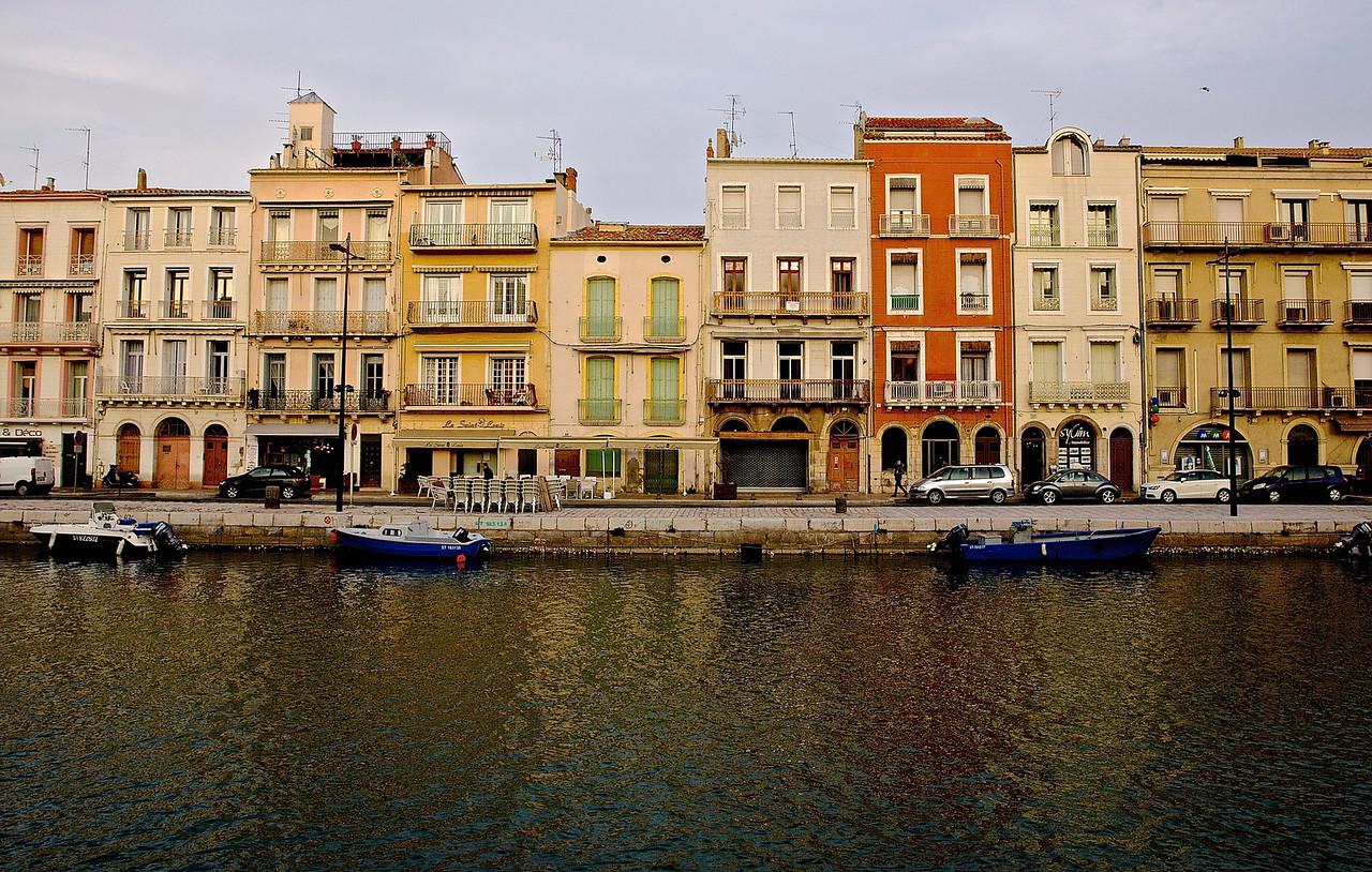 Sète Canal Royal Architecture.