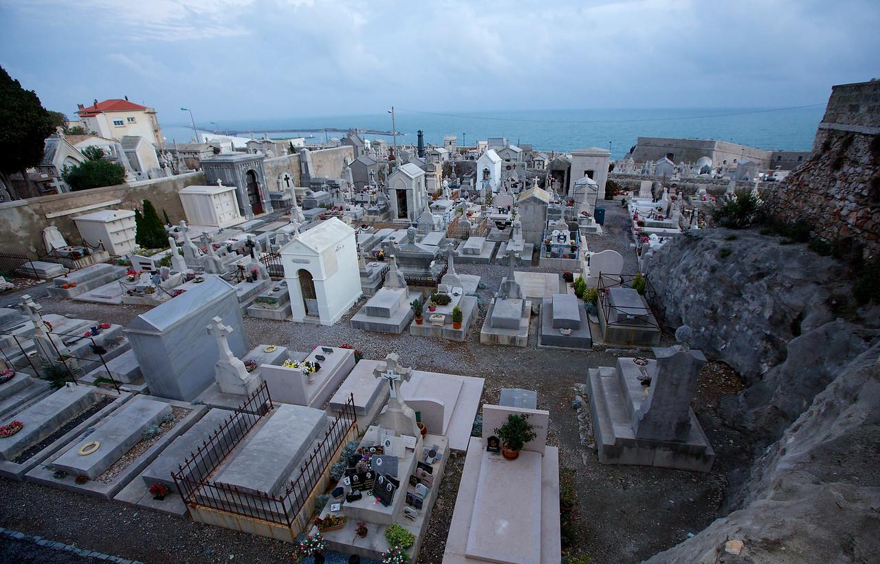 Cemetery Vista