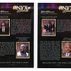 2015 HONOREES OF THE 11TH ANNUAL ONYX AWARDS<br /> <br /> DR. BOBBY DOCTOR, NFL HALL OF FAMER LARRY LITTLE, SEVELL C. BROWN,III, & THE CHESTNUT DYNASTY.<br /> <br /> Place mouse on right side of each image or photo and click on the X2Large to read or view photos.