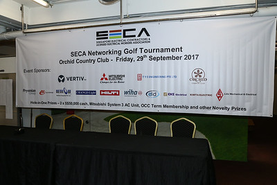 SEXA Networking Golf Tournament 2017