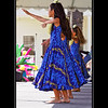 Blue Dress Hula