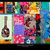Hawaiian patch quilt.