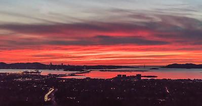Salmon SF Sunset