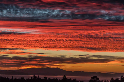 Layered Sunset