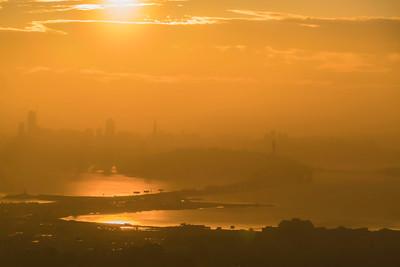 Misty SF Sunset
