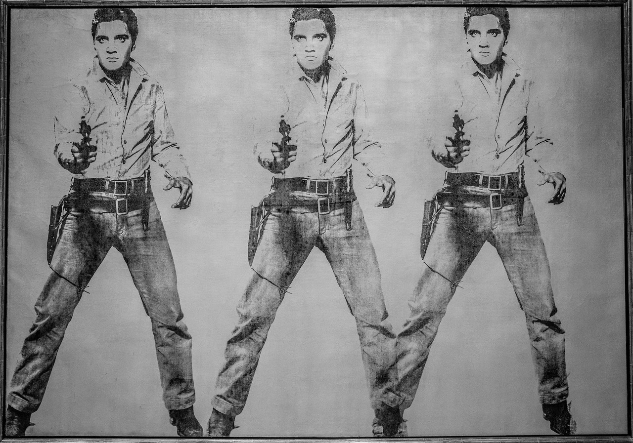 Elvis by Warhol