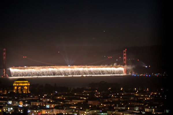 Golden Gate Bridge 75th Celebration