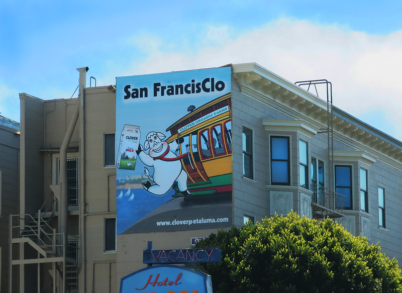 SF-clo billboard  THE END.