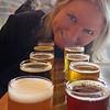 Nancy's beer-tasting at Thirsty Bear Brewery