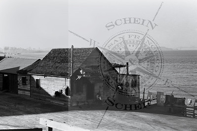 Hunters Point View of GG Shrimp Co. Location -1937