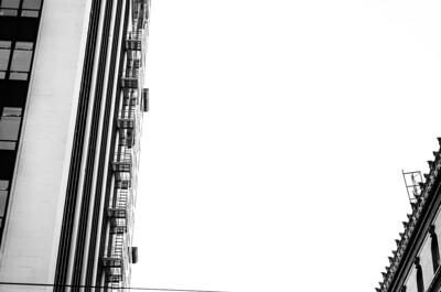 Building edge, mono