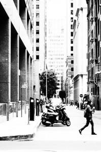Motor scooter, mono