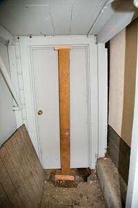 Backyard Doorway into the Basement
